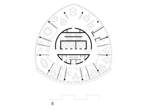 ninth to 27th floor plan