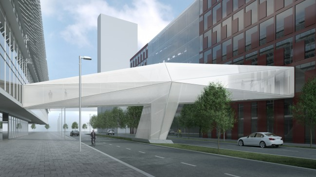 Capricorn Brücke © SUPERGELB ARCHITEKTEN/Rendering Fix Visuals